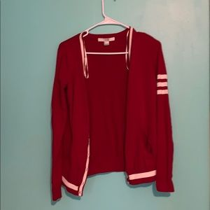 Red cardigan forever 21